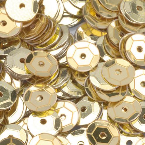 Pailletten gold 6mm 40g bastelbedarf - Styroporkugeln mit pailletten ...